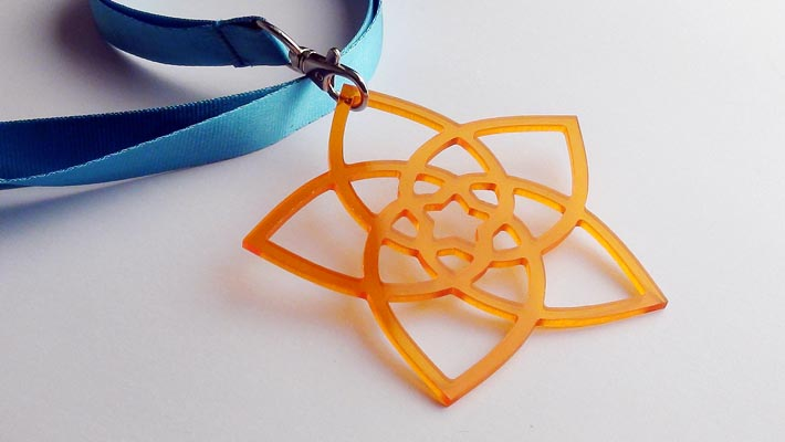 Venusblume aus Acrylglas