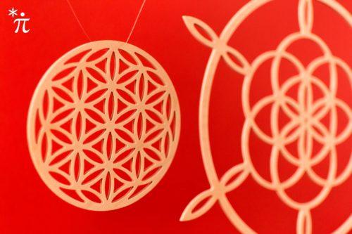 Saat-des-Lebens-aus-Holz-8cm-Fibonacci-Siegerblume-21cm